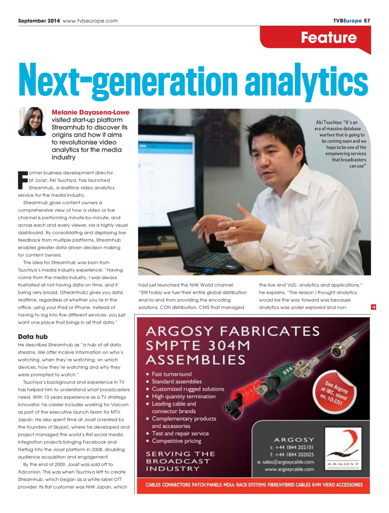 Next Generation Analytics 1